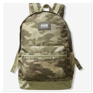 VS Pink CAMPUS Camo BACKPACK NIP